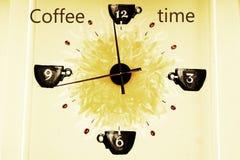 kawa więcej czasu Fotografia Royalty Free