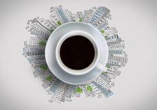 kawa więcej czasu Zdjęcia Royalty Free