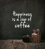 Kawa z fasolami zdjęcia royalty free