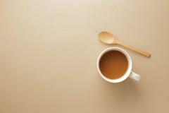 Kawa z przestrzenią dla teksta Zdjęcie Royalty Free