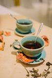 Kawa z rankiem Obrazy Royalty Free