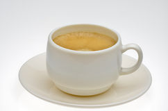 Kawa zadawala Zdjęcia Royalty Free