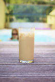 kawa zamrażający basen Zdjęcia Royalty Free