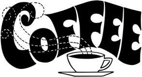 kawa znak royalty ilustracja