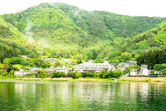 Kawafujiko lake Stock Photography