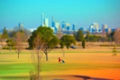 Kawagoe高尔夫球场在日本 库存照片