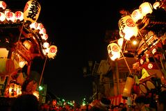 Kawagoe festival Royalty Free Stock Photos