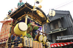 Kawagoe festival on Oct  19 2013 in Kawagoe Royalty Free Stock Photos