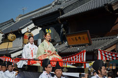 Kawagoe festival-October 2014 Stock Image