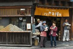 Kawagoe street, Japan Stock Image