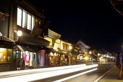 Kawagoe stary miasteczko Zdjęcia Royalty Free