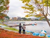 Kawaguchiko湖 库存图片