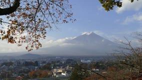 Kawaguchiko beautiful fall scenery and background, Japan Royalty Free Stock Photo