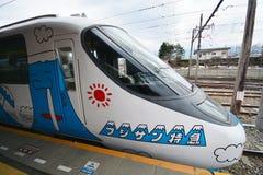 Kawaguchiko, Japan - March 16,2016  - 'Fujikyu express' Stock Image