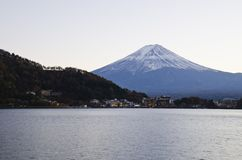 Kawaguchiko Lake and Beautiful Fuji Royalty Free Stock Image