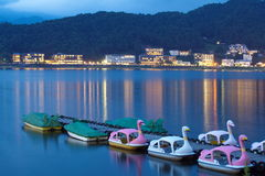Kawaguchiko lake,Yamanashi City Japan Stock Images
