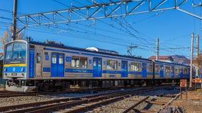 Kawaguchiko Line Stock Photo
