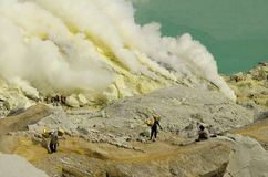 Kawah Ijen  Royalty Free Stock Photo