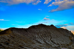 Kawah Ijen. Indonesia in morning Royalty Free Stock Photography