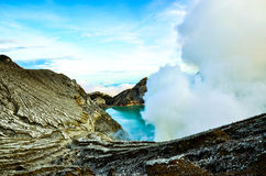 Kawah Ijen5 Royalty Free Stock Photo