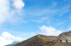 Kawah Ijen, a sulfur vulcano Royalty Free Stock Photos