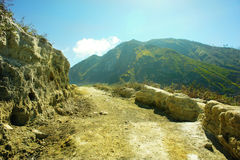 KAWAH IJEN Stock Photography