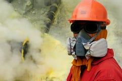 Kawah Ijen - sulphur vulcano, Indonesia, East Jawa Royalty Free Stock Photography