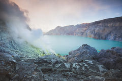 Kawah Ijen Stock Photo