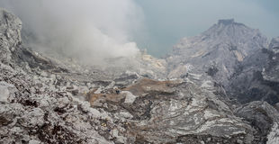 Kawah Ijen. Volcano, Java,Indonesia stock photos