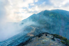 Kawah ijen volcano Royalty Free Stock Photos