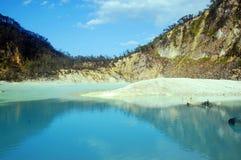 Kawah Putih - Bandung Indonesia Immagini Stock Libere da Diritti