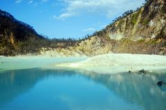 Kawah Putih - Bandung Indonesien lizenzfreie stockbilder