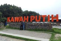 Kawah Putih Lake Bandung Royalty Free Stock Images