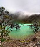Kawah Putih Stock Photography