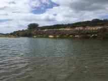 Kawai'ele Waterbird fristad på den Kauai ön, Hawaii arkivbild