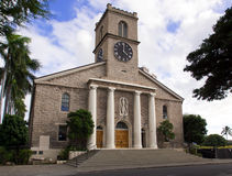 Kawaiahao Kirche Stockbild