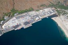 Kawaihae Harbor, Big Island, Hawaii Royalty Free Stock Image