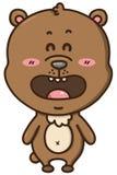 Kawaii bear. Royalty Free Stock Photos
