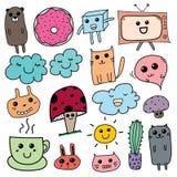 Kawaii Doodle For Kids. Hand Drawn Vector Illustration vector illustration