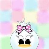 Kawaii duck girl Royalty Free Stock Photos