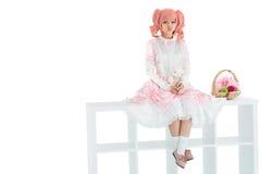Kawaii girl Royalty Free Stock Photo