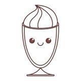 Kawaii icon image Stock Images