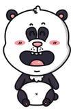 Kawaii panda bear. Stock Photography