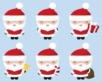 Kawaii Santa Royalty Free Stock Images