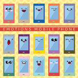Kawaii telefon Obrazy Royalty Free