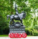 Kawaleria Empirowy pomnik, Londyn, Anglia Obraz Stock