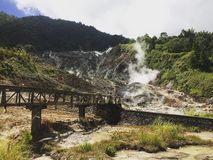 Kawangkoan. Bukit doa minahasa sulawesi utara indonesia Stock Photo