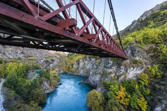 Kawarau bridge, New Zealand Stock Photography