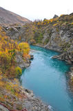 Kawarau Fluss, Neuseeland Stockfotos