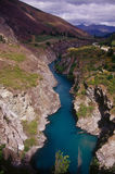 Kawarau Gorge. Featured in the Lord of the Rings trilogy, as did many of the locations around Queenstown Stock Photos